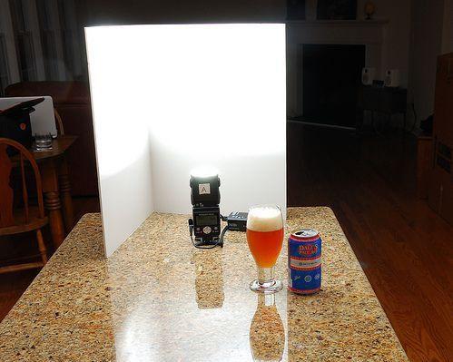 5 Схема освещения для съемки предметов.