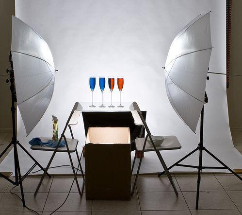 3 Схема освещения для съемки