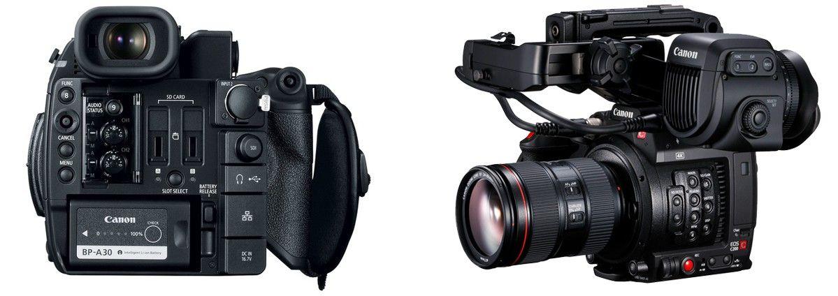 Новинка от Canon - компактная видеокамера Cinema EOS C200 4К